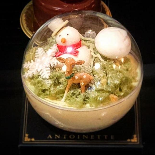 Snow globe ☃️ .
