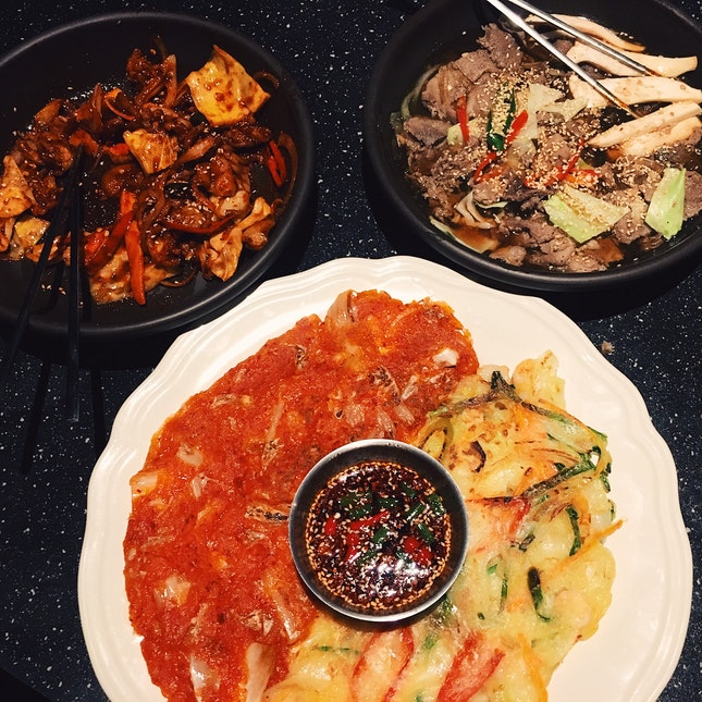 Authentic Korean Food + Soju