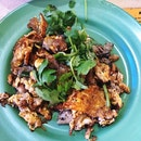 Fried Oyster Omelette ($5)