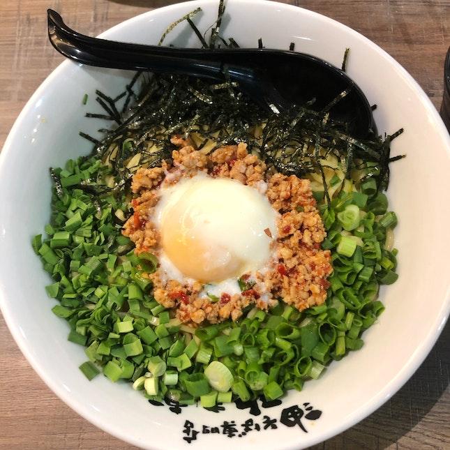 Nagoya-Style Mazesoba