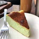 Pandan Burnt Cheesecake