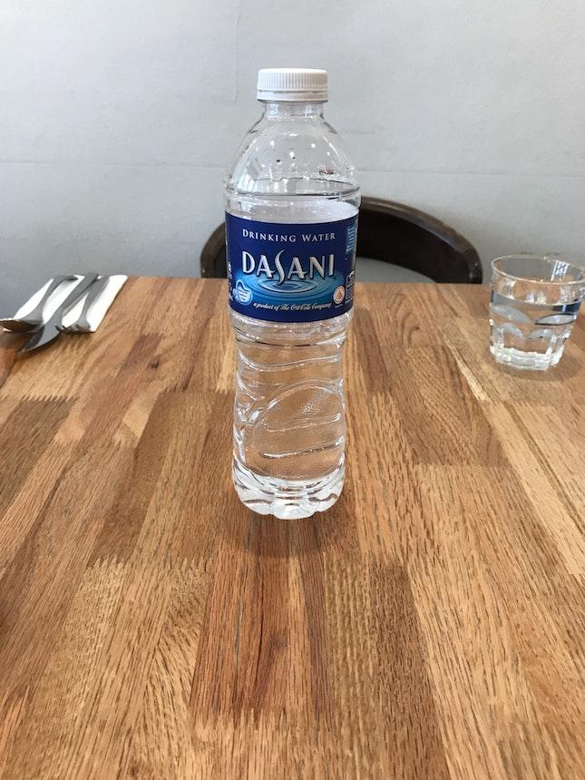 "Overpriced ""Tap"" Water"