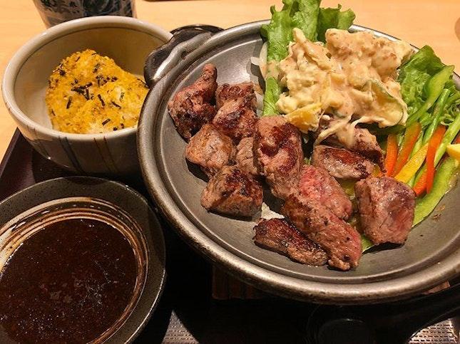 #throwback lunch at Ichiban Boshi!