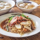 Famous for their red wine mee sua & Fu Zhou fishballs, i thought their wanton noodles are pretty alright too.