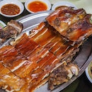 Roasted Suckling Pig ($218) - a must order for me!
