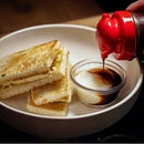 Kaya, Coffee Butter' ($9.50) – buttered and toasted white bread with a generous spread of kaya, made with luscious gula melaka, and a thick slice of fridge-cold coffee-flavoured butter!