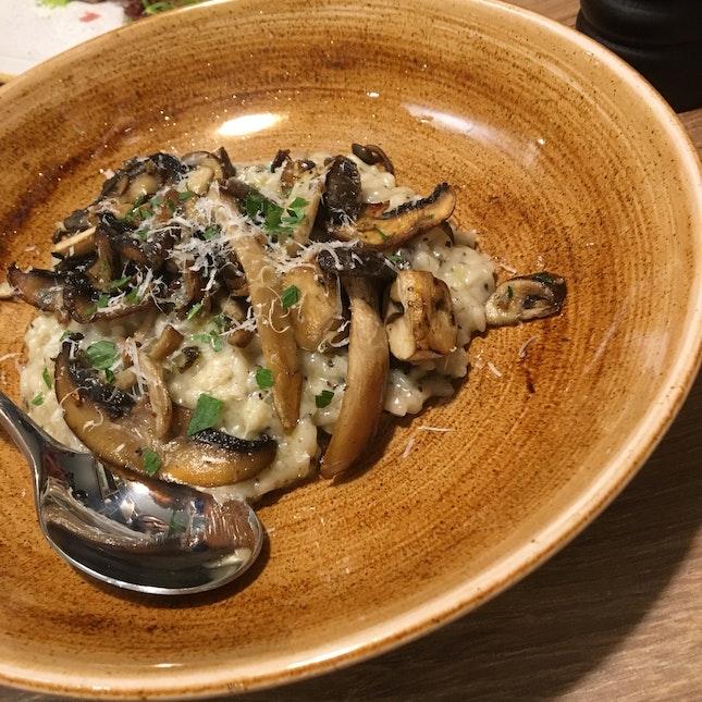 Mushroom X Truffle Risotto