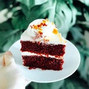 """Salted Caramel Red Velvet 6"""" [$48.00]  Celebrating Mother's Day with @butterstudio cake❤️ Red Velvet cake with cream cheese frosting and sea salted caramel sauce💕 Happy Mother's Day!😊 #burpple"""