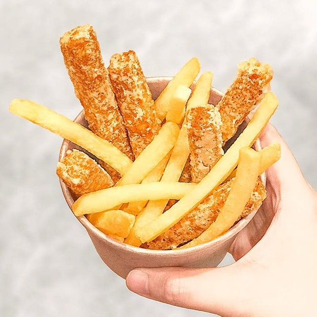 There's spam fries and now we have Otah fries thanks to @OtahSG!