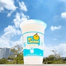 Coconut Shake [S$4.40/M | S$5.40/L] ・ Could finally understand the never ending queue at @Mr.CoconutSG @Waterway_Point.