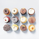 Box of 12 Cupcakes (Mainstays) [S$48.00] ・ Miss @PVBakery's cupcakes dearly, and so we decided to get a flavour each!