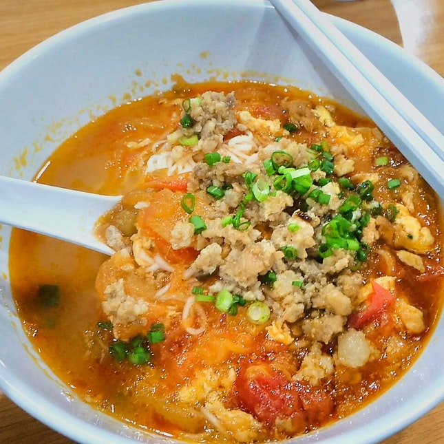 Tomato Egg Noodle