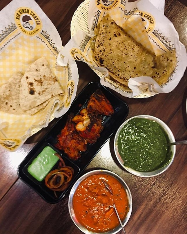 Being a Boba Hunter means spending more time at SS15 | Freshly made Chapati paired with tender, juicy tandoori chicken 🤤 #burpple