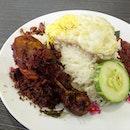Ayam Rempah Nasi Lemak ($4)
