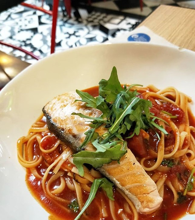 Salmone Linguine ($12.50) | Not the most prominent stall you would spot at Jurong Point, but their entries definitely deserve more attention!