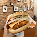 Salmon Mentaiko Meal ($6.90) | BK Singapore has just launched their CNY menu with two new burgers, both topped with mentaiko sauce.