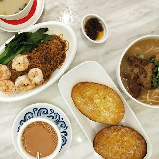 Tsui Wah ($15-20/pax)   I wana go back to HK 😂 .