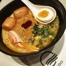 Chili Crab Ramen ($33) | A Singapore Food Festival special - collaboration between @ippudosg and @nosignboardseafood.
