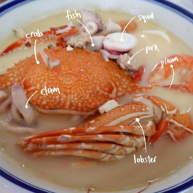 Seafood Soup ($18)