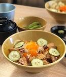 Very Affordable Sashimi-Dons!