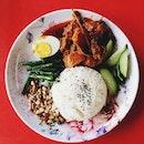 Vegetarian Nasi Lemak