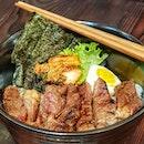 Premium Steak Don @ Kushiya Japanese Grill House : : #singapore #sg #igsg #sgig #sgfood #sgfoodies #food #foodie #foodies #burpple #burpplesg #foodporn #foodpornsg #instafood #gourmet #foodstagram #yummy #yum #foodphotography #dinner #monday #jurongeast #westgate #japanesefood #beef #steak #don #kimchi