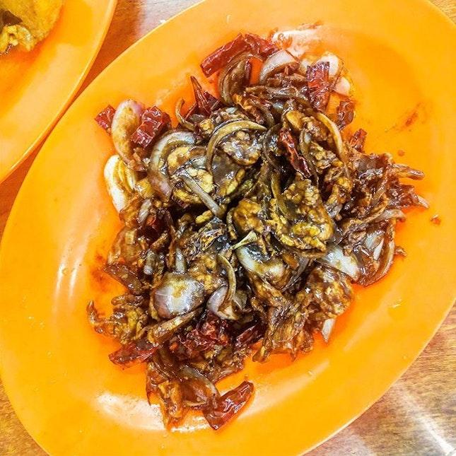 ( 宮保豬肉)Spicy tender pork .