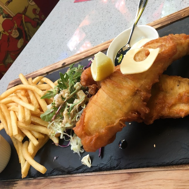 Fish And Chips ($25+)