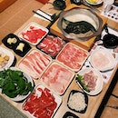 All-You-Can-Eat Shabu Shabu from Hong Kong that includes premium choices of Wagyu and Pork cuts from different region •  Japanese hot pot heaven with 10 soup selections to choose from to cook different high quality parts of paper thin slices of beef or pork, piece by piece - the idea of Shabu Shabu •  Lunch Buffet RM38.80 • Dinner Buffet RM48.80 • Single Plate Meat RM28.80 • Black Angus Beef Premium Buffet RM68.80 •  Additional RM3 on weekends and public holidays •  #wagyumore #shabushabu #premiumcuts #wagyumoremalaysia #burpple #burpplekl #gardensmall #sunwaypyramid #eatnowkl #buffet