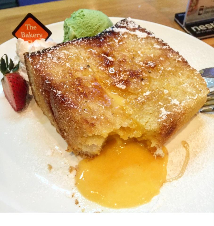 Salted Egg Lava Toast