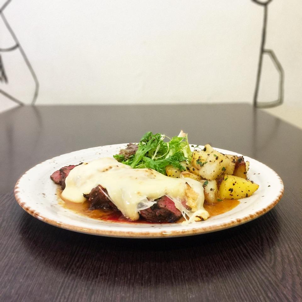 Beef Steak & Raclette ($24.90)