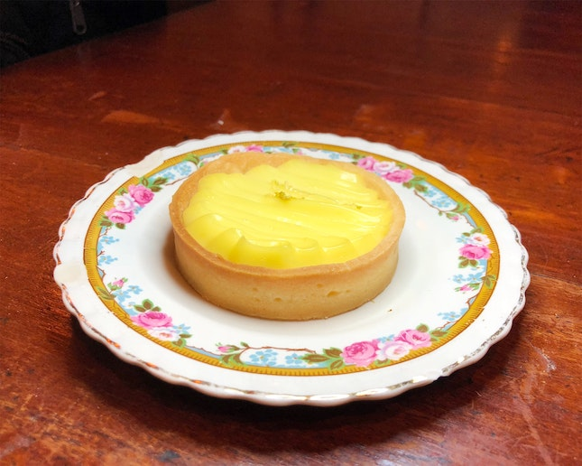 Lemon Cream Tart ($7.50)