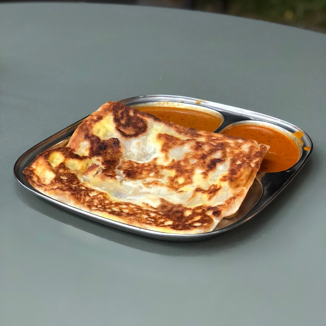 Cheese Egg Prata ($2.80)