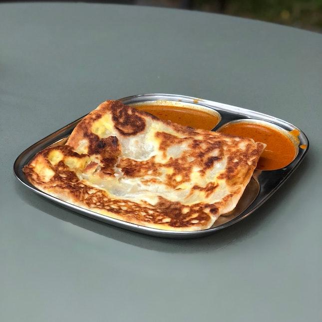 Cheese Egg Prata ($2.80)