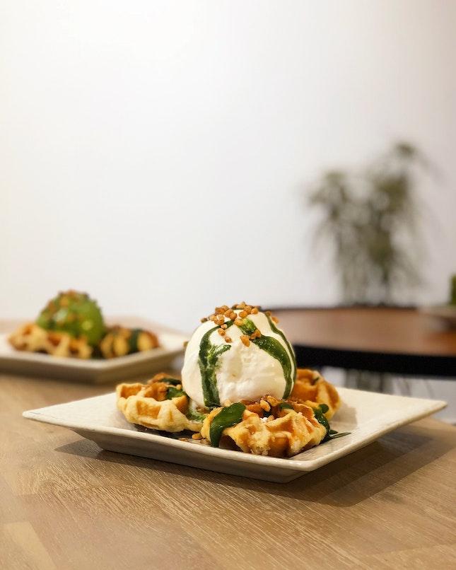 Belgian Waffles ($8.80)