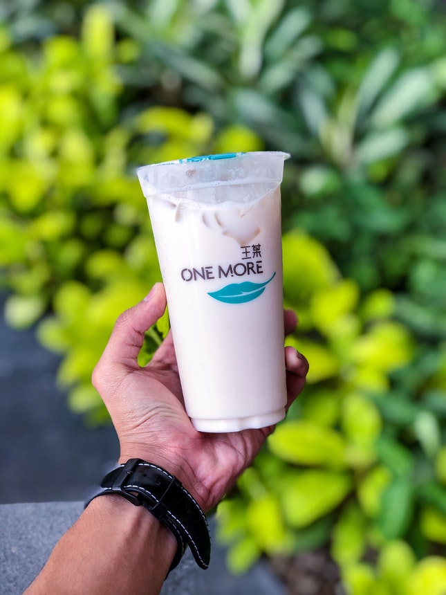 Wintermelon Milk Tea (est. $2.50)