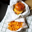 Double Cheeseburger + Curly Fries ($14)