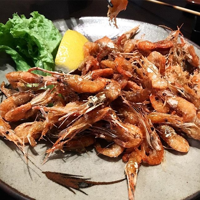 Deep fried river shrimp is the best!