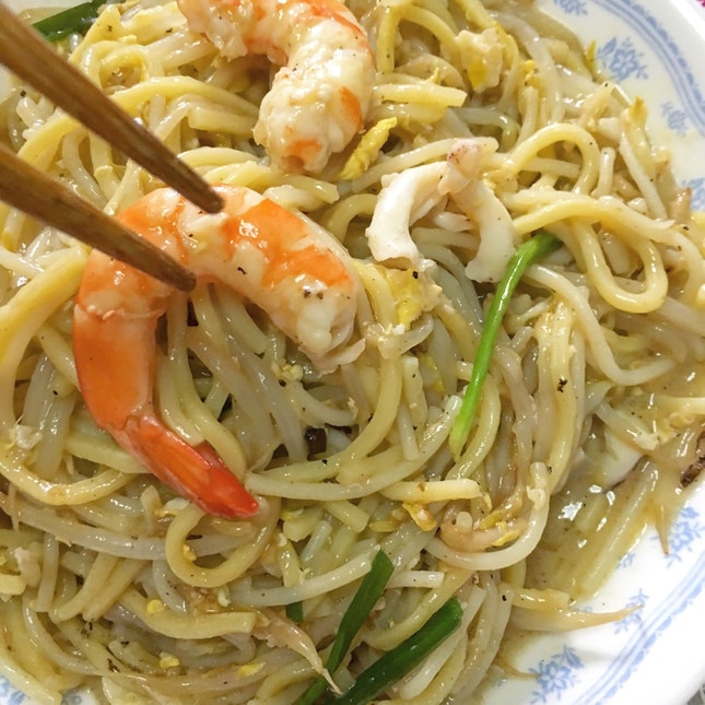 Fried Prawn Mee