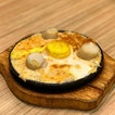 Baked Scallop & Spicy Salmon Mayo & Egg with Rice