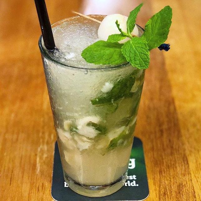 Lychee Gin Mojito