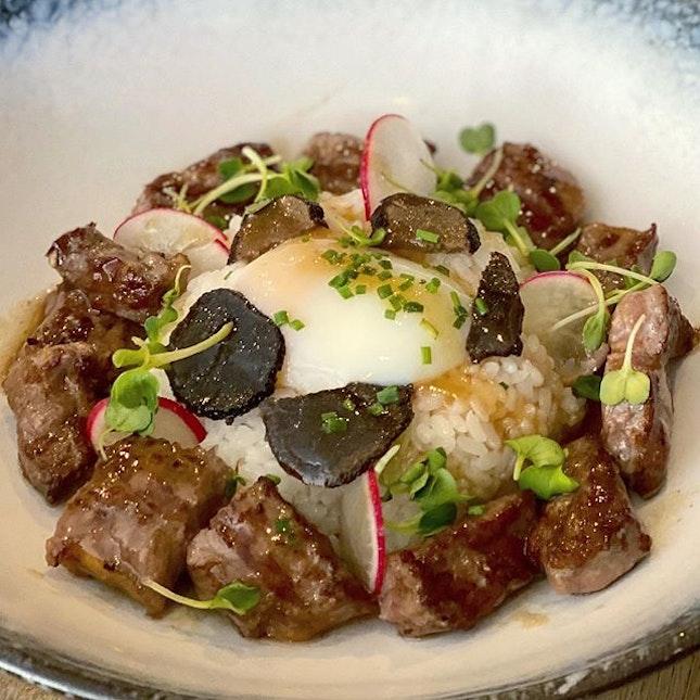 Ribeye & Truffle Aburi Rice Bowl