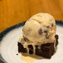 Rum & Raisin with Brownie