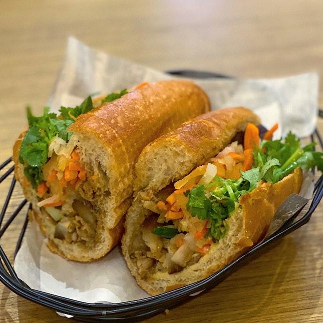 Caramelised 5-Spice Pork Belly Bahn Mi