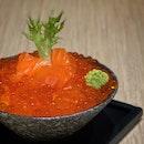 Salmon & Roe Giant Mini Rice