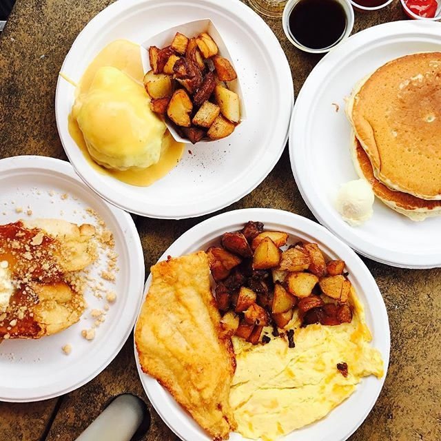 Breakfast was at Eastern Market!!