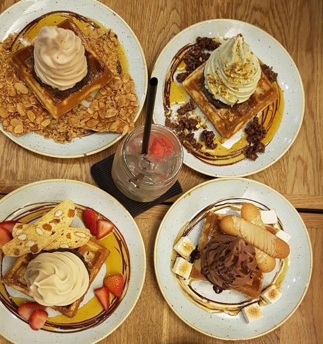 Ice Cream Waffles