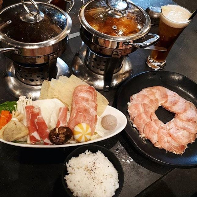 JB第六站: Shabu-shabu for dinner 😋😍 #hmfoodsteps📍jb