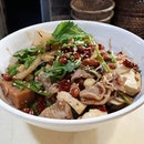 How can anyone resist this hugeee bowl of mala fragrant pot for only $12.50?!!