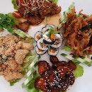 初一吃素,但是一點都不素🤣😜 #素食 #vegetarian #meatless .
